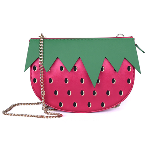 VVV PINK STRAWBERRY BAG