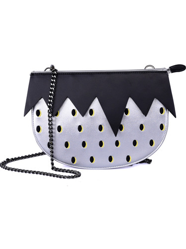 VVV SILVER STRAWBERRY BAG
