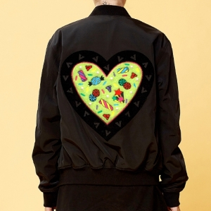 SWEET HEART JUMPER (BLACK)