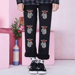 VVV FINGERS SWEAT PANTS (BLACK)