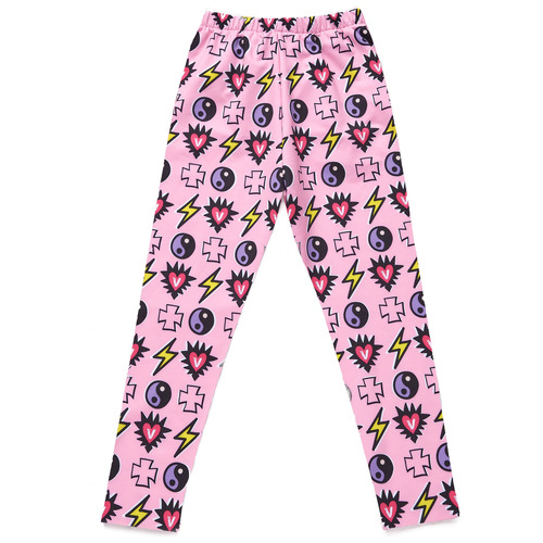 VVV MIRACLE CHARMS PINK LEGGINGS PANTS