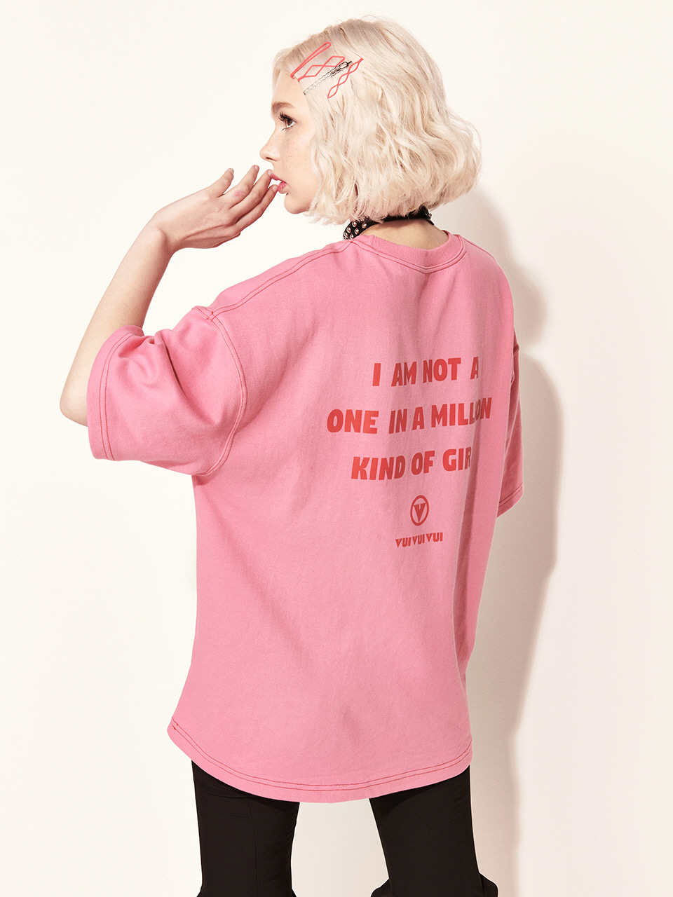 VVV PINK ONE OF KIND T-SHIRT